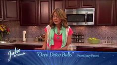 Oreo Disco Balls - Julie & Friends Recipe