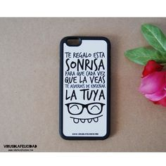 Te regalo esta sonrisa  Consíguela para tu movil en http://ift.tt/1n71PmC  #virusdlafelicidad #carcasa #movil #accesorio #sonrisa #teregaloestasonrisa #iphone #samsung #galaxy #apple #android #ios #positividad #regalo #detalle