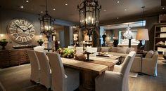 rustic dining room tables restoration hardware ideas