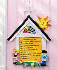 10 commandments craft for preschool Vbs Crafts, Church Crafts, Camping Crafts, Rock Crafts, Crafts For Kids, Bible School Crafts, Sunday School Crafts, Bible Crafts, 10 Commandments Craft