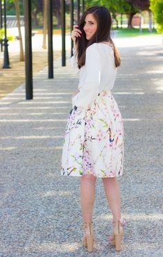 midi skirt look #kissmylook