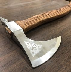 Viking Tomahawk Axe Hatchet with With Custom Engraving http://etsy.me/2oqGNum