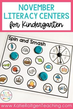 With over 20 literacy centers to choose from, your kindergarten students will love these engaging, interactive activities! With practice for letter recognition, letter sounds, sight words, and writing, these easy, fun literacy centers are not fall-themed. The foundational literacy skills covered are appropriate for kindergarten students during the third and fourth months of the school year. These low-prep literacy centers can be used for pre-teaching, re-teaching, and review as well!