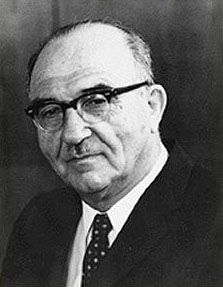 Levi Eshkolprimer ministro de Israel desde1963hasta1969
