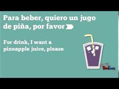Hablando Español - En el Restaurante