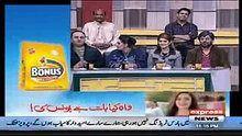 The Awesome World: Khabardar Aftab Iqbal With Mubeen Gabol AKA Matkoo...
