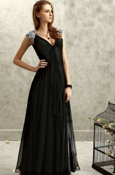 Cool Black ball dress 2018-2019