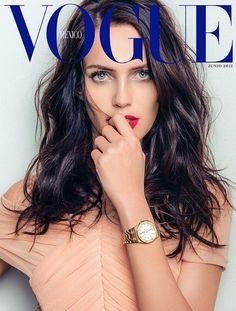 awesome Amanda Wellsh estrela como a garota das capas da Vogue México & America Latina Junho 2015  [Capas]