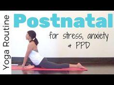 30 Minute Postnatal Yoga Practice for Strength & Flexibility - YouTube