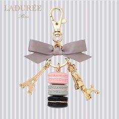 Mademoiselle Laduree keychain