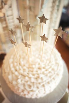 Birthday Cake Decorated with Stars - Project Nursery