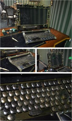 Steampunk Tendencies | Steampunk Victorian Computer #Design #Steampunk #Retrofuture