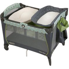 Walmart Baby Pack and Play | Graco Pack 'n Play Playard with Newborn Napper, Sonoma