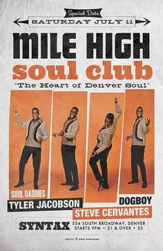 Mile High Soul Club - The Heart of Denver Soul