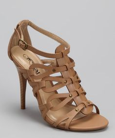 Take a look at this Wild Rose Natural Reggie-10X Sandal by Wild Rose on #zulily today!