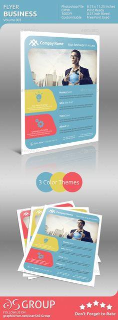 flyer themes