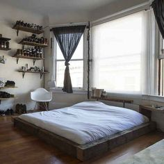 26 Interior Designs with Low Beds Interiorforlife.com No matter how tiny that studio apartment is  nothing beats having your own space.