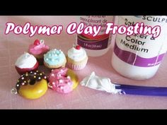 How To: Polymer Clay Frosting/Icing - I know a lot of crafters like to make charms or use that same clay to make decorations for scrapbooks and cards (Hello, Stampers!) Anyway, a VERY nice tutorial on making simple 'frosting' for charms or embellishments.