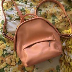 1ff6be324aa0 Matt & Nat Apricot Vegan Backpack 💗price MINI - COLLECTION - Depop Matt  And Nat