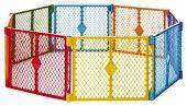 North States Superyard Play Yard, Colorplay, 8 Panel