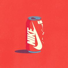 Artist Mixes Up Well-known Manufacturers And It& Actually Complicated French graphic artist Mike Stefanini has been taking part in round with iconic worldwide manufacturers and putting them on on a regular basis shopper . Coca Cola, Nike Logo, Cola Dose, Jordan Painting, Nike Images, Cool Pictures, Cool Photos, Nike Wallpaper, Beast Wallpaper