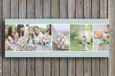 Facebook-Timeline-Vorlage für Berufsfotografen - Blog-Header-Design - Digital Photoshop Templates - f0020