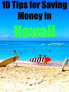 Hawaii saving money
