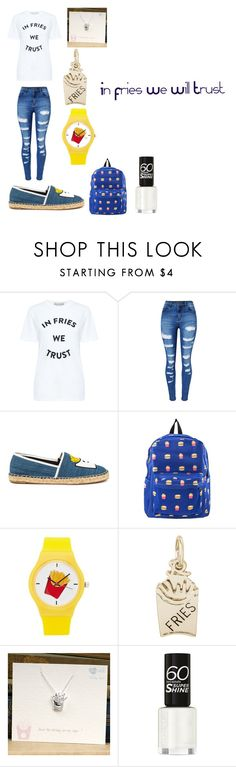 """In Fries We Will Trust"" by pentatonixptx on Polyvore featuring Paul & Joe Sister, WithChic, Circus by Sam Edelman, Forever 21, Rembrandt Charms and Kalk Bay"