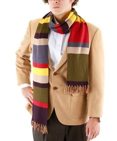 Another great find on #zulily! 6' 4th Doctor Scarf #zulilyfinds