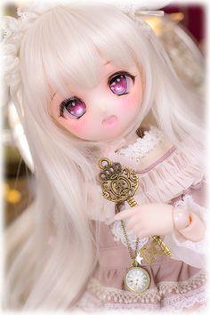 Pretty Dolls, Cute Dolls, Beautiful Dolls, Anime Dolls, Blythe Dolls, All Anime, Anime Chibi, Kawaii Doll, Dream Doll