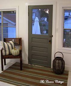 door - def repainting the doors this summer!