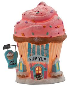 Department 56 North Pole Village - Yum Yum Cupcakes Collectible Figurine