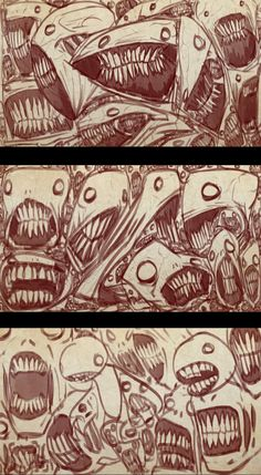 Screaming Sketches 2 by bobmeatbag on DeviantArt The Maxx, Sketch 2, Scream, Monsters, Creepy, Horror, Death, Comic Books, Characters