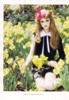 Ellen von Unwerth - Photographer Cintia Dicker - Model Kate Young - Fashion Editor/Stylist Dennis Lanni - Hair Stylist Devra Kinnery - Makeup Artist