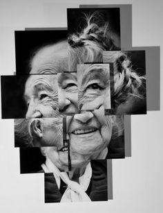 Portrait sculpture photography by brno del zou Montage Photography, Photography Collage, Photography Projects, Portrait Photography, Photomontage, David Hockney Photography, Distortion Photography, Fotografia Fine Art, Zou