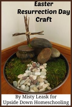 Easter Resurrection Day Craft Tutorial {you don't have to wait for the grass to grow!}