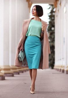 Лучшие цветовые сочетания с мятным цветом: 20 освежающих образов для вашего гардероба