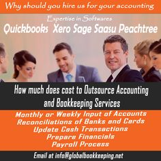 Why should you hire  us for your #accounting and #bookkeeping services? We are expertise in #Quickbooks , #Xero and Sage, Saasu etc.
