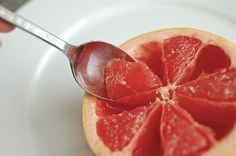 how to eat a grapefruit. I have eaten it like this my whole life...