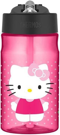 I digs it. <3 .Hello Kitty Thermos.