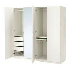 PAX Šatní skříň - 200x60x201 cm, standardní panty - IKEA