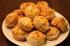 Homemade muffins Mon Plaisir with apple Homemade Muffins, Savory Pastry, Food Preparation, Cake Recipes, Food And Drink, Apple, Baking, Dinner, Breakfast