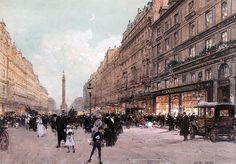 Luigi Loir (French, 1845 - 1916)  Paris