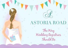 Allows you to add from ANY store site all in one directory   Astoria Road wedding registry | 100 Layer Cake