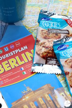 Leckere Cookies versüßen den Städte-Trip durch Berlin. #Bahlsen #LifeIsSweet #SweetOnStreet #SonyCenter #Berlin