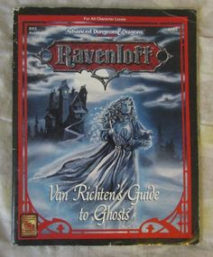 SR AD&D Ravenloft RR5 Van Richten's Guide to Ghost 1993 2nd edition