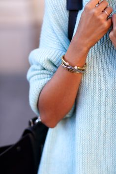 VivaLuxury - Fashion Blog by Annabelle Fleur: PEEK A BOO :: MINI & MINT