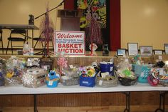Check out the 2018 Basket Auction pictures at www.tasteofpulaskicounty.com. #TasteofPulaskiCounty #WSRBasketAuction