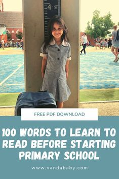 Sight Words for kids starting primary school Sight Words List, Memory Journal, Welcome To The Group, Starting School, High Frequency Words, 1st Year, Wedding Entertainment, Take The First Step, Head Start