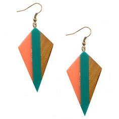 Leto Wooden Earrings